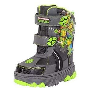 TM Ninja Turtles Light Up Toddler Boys Snow Boots